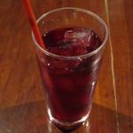 カフェ マツオントコ - クランベリージュース