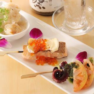寿司屋なのにイタリアン?!2つの料理のいいとこどり!