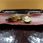 自然坊たなか - 焼き物(鮎塩焼き)