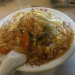 大龍飯店 - 中華風カツ丼(¥800)