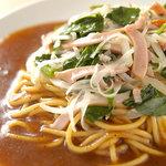 パスタリ庵 - ミドリッコ 野菜と肉類がバランス良く入った人気メニューです。