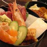 おたる政寿司 ぜん庵 - 海鮮二段