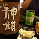麦酒庵 - 神韻 純米酒無濾過生原酒BBおりがらみ「奈良県天理市:増田酒造」(2015.Sep)