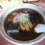 天味 - 醤油ラーメン(630円)