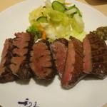 利久 - 料理写真:牛たん「極」焼 (3枚6切)