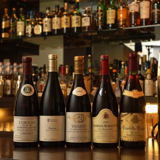 ワイン好きにもたまらない品揃え♪