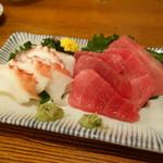 直菊 - 中トロ&タコ
