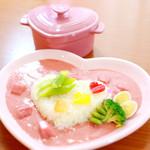 @ほぉ~むカフェ - 萌え萌えピンクカレー♥〜ピュアラリ∞キュアラリ魔法のじゅもん〜