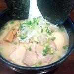 麺屋 吉佐 - 全部のせ塩ラーメン
