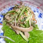 老上海 - 豚耳のサラダ