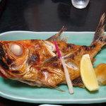 海鮮料理 竹ノ内 - 焼き魚上定食(金目鯛)
