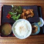 謳歌屋 ごん蔵 - 鶏照り焼き定食