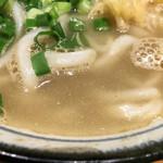 フィッシュメン - 煮干しスープ