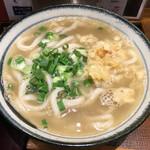 フィッシュメン - 「煮干し出汁かけうどん」590円