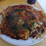 お好み焼遠山 - 料理写真:モダン焼きそば2玉