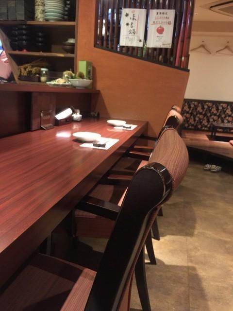一三屋 - ☆カウンター席はこんな雰囲気です…奥は座敷席☆