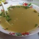 吉祥 - ・咖喱牛肉汤 300円 カレー牛肉スープ