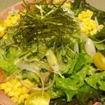42407053 - 彩り和風サラダ(前菜)/2015年9月来店