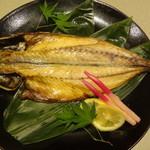 42407140 - 本日の焼き物 鮮魚 あじのひらき・(焼き物)/2015年9月来店