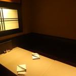 越後屋 久保田 - 店内(個室)/2015年9月来店