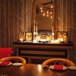 munakata cuisine ishida - 夜の店内