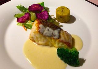 TSUKIMISO - 白身魚「スズキ」のソテー