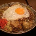 大阪 伊古菜 - 大盛り玉子のせ
