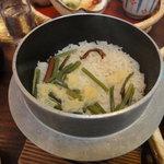レストラン クレアチュール - 釜飯