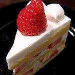 京の洋菓子工房 リモール - 苺のショートケーキ