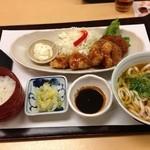 42411750 - (料理)チキン南蛮膳(うどん付)
