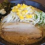 らあ麺ダイニング 為セバ成ル。 - こってり味噌麺 770円 味脂と生姜が入った濃厚味噌