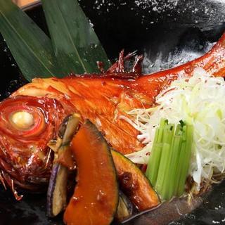 唯一無二煮魚☆素材の底力蒸魚
