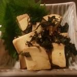 俺の居酒屋 三蔵 - クリームチーズの味噌醤油漬(380円)