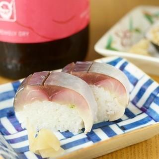 お昼限定のお寿司がお得!