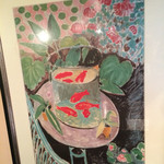 金魚坂 - 店内・金魚の絵