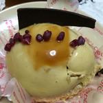 ハタダ - 料理写真:梨のキャラメルムース