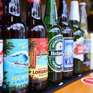 海外の絶品ビールの品揃えも充実◎♪