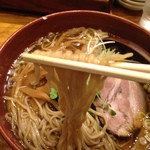 新高揚 - めんまらーめんの麺
