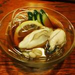 居酒屋しばらく - 料理写真:牡蠣酢