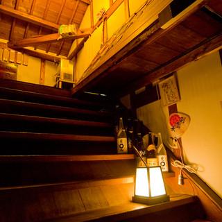ほっこりぬくもりが感じれる、築90年の隠れ蔵の空間。