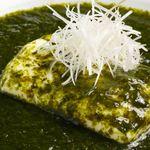 青海苔と 揚出し豆腐