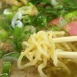 たちばな - 平成27年9月 塩チャーシュー730円の麺