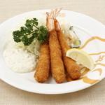 洋食屋 ヨシカミ - エビフライ