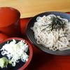 そば処大川 - 料理写真:ざるそば(¥700税込み)