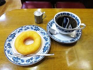 平岡珈琲店 - 平岡ブレンド、ドーナツ