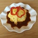 竹岡マリーナ レストハウス - 料理写真:オム焼きそば