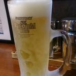 信楽茶屋 - 生ビール