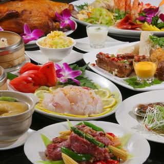 フカヒレ姿煮、北京ダック、鮑オイスターソースを嬉しい価格で♪