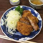佐久良屋 - ヒレカツ定食
