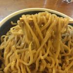 麺鮮醤油房 周一 - つけそば 中盛り 麺リフト〜(*^◯^*)♪